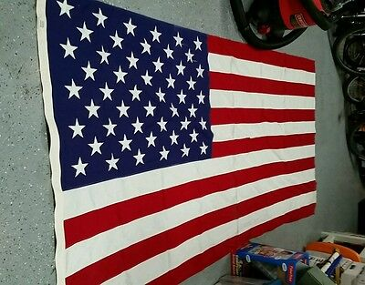 Older American Flag 5x9 cotton woven