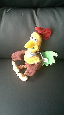 Chicken Run Beanie Soft Toy 9""