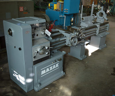 "18""/25"" X 80"" Mazak Gap-Type Engine Lathe - #27992"