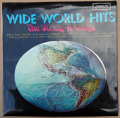 LP The String-A-Longs - Wide World Hits  UK 12 Track  1968 London Records  EX