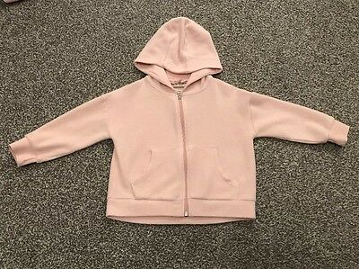 Girls NEXT Zip Fleece Hoodie - 3 Years