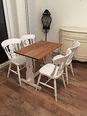 Small Shabby Chic Table & Chairs