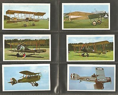 """Set of 24 Players Doncella Cigar Cards """"Golden Age of Flying"""" 1977"""