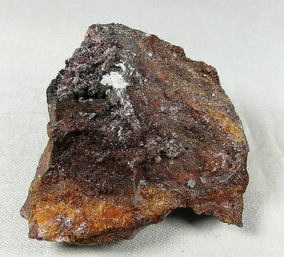 Chalcotrichite crystals on matrix. Natural mineral. 115 gms (4.06 oz).