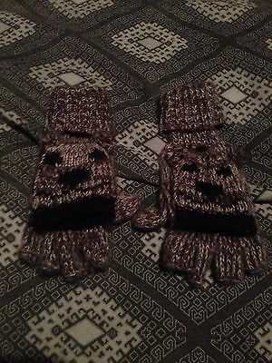 Women's Girls Cute Gloves To Mittens