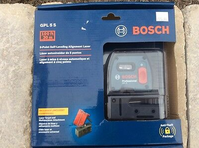 Bosch 5 Point Self-Leveling Alignment Laser