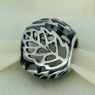 authentic pandora 791190 autumn bliss sterling silver bead