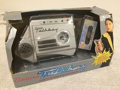 Vintage Deluxe Talkboy from Home Alone 2 Full Working Order Boxed Retro 1995