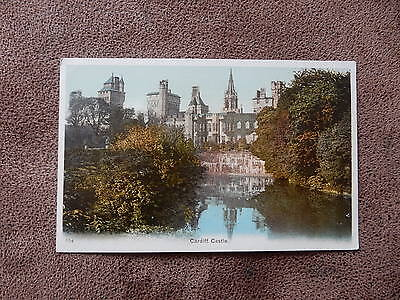 Early  postcard- Cardiff Castle - Glamorgan - South wales