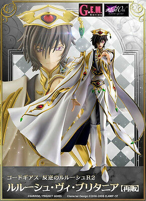Code Geass Lelouch of the Rebellion Emperor Lelouch vi Britannia Figure Preorder