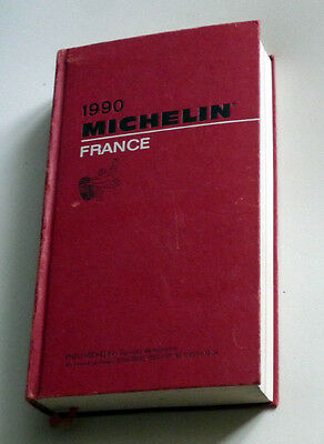 Guide MICHELIN rouge année 1990