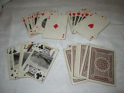 Antique Muir & Moodie Playing Cards New Zealand Dunedin c1904