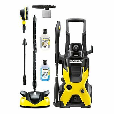 Pressure Washer Karcher K5 Car Home Package Cleaning Patios Decking  full kit