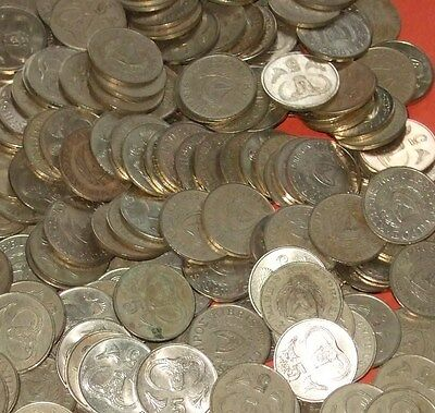 Cyprus - Bulk lot of 100x 5 Cent Coins Pre-Euro Type
