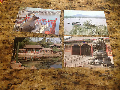 Postcards, lot of 8, China Travel tourism Press, unposted
