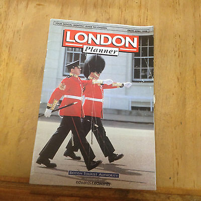 London Planner official Guide to London, April 1998