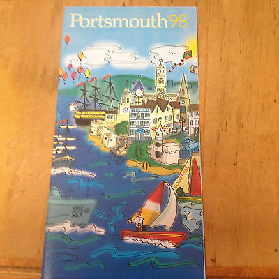 UK Portsmouth 98 official Mini Guide ships museums activities and stuff