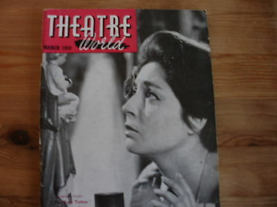 THEATRE WORLD Magazine dated March 1959