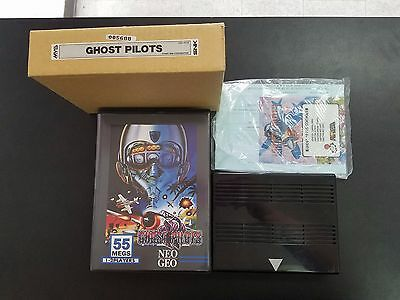 Ghost Pilots Neo Geo MVS COMPLETE US VERSION GREAT SHAPE **FREE SHIPPING**
