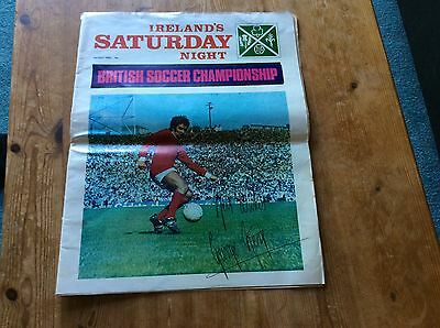 Irelands Saturday Night, Signed by George Best Manchester United - 3/5/1969.