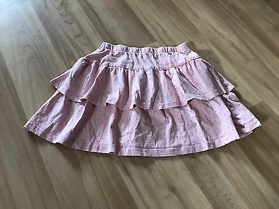 H&M Pink Dotty Tiered Skirt, 7-8 Years