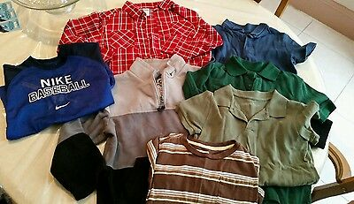 Lot of 7 Boy's Shirts Size 5/6 Clothing - Children's Place - Old Navy - Nike