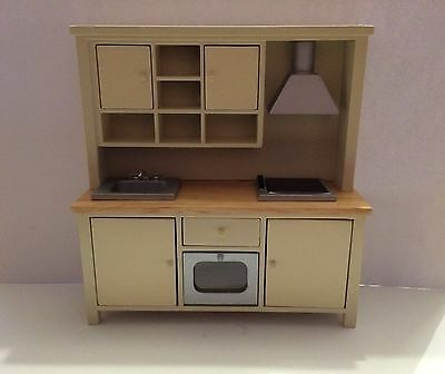 Dolls House All in One Kitchen System 1:12 Scale