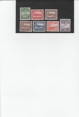 Antigua GVI mounted mint stamps (04)