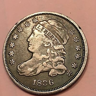 1836 10C Capped Bust Dime