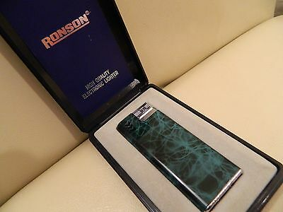 Ronson Electronic Lighter, Boxed