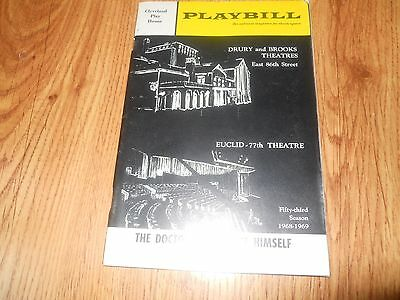 Cleveland Play House  PLAYBILL 1968-1969  SC