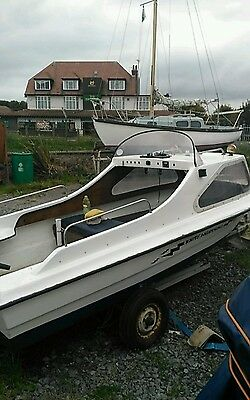 fishing boat for sale 4mtr x 1.5mtr engine boat and trailor