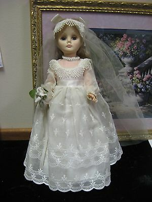 Effanbee Vintage Bride Doll(s) Year 1979, 14 inches