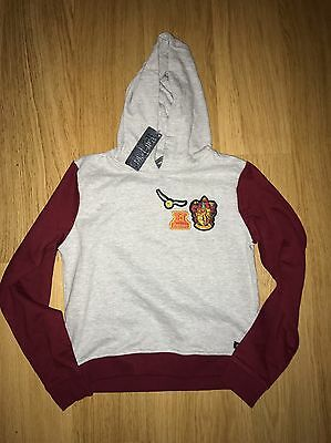 Kids Official Harry Potter Gryffindor Hoodie Size 9/10 Years Old BNWT
