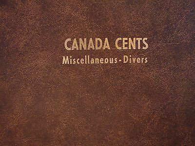 1920 - 2012 Set Of Canadian Small Cents - 106 Coins With All The Keys