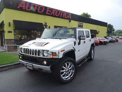 2008 Hummer H2 Base Sport Utility 4-Door 2008 HUMMER H2 SUV CONVERTIBLE WHITE NAVI LOW MILES PRICE REDUCED SALE PRICE