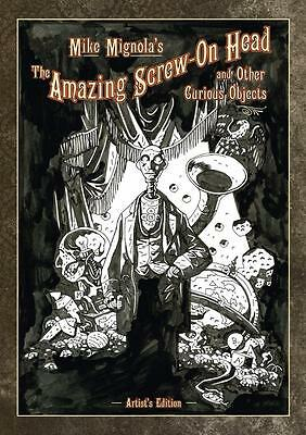 Idw Mike Mignolas The Amazing Screw-On Head And Other Curious Objects Artist Ed