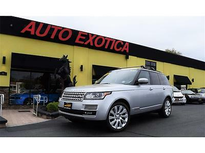 "2015 Land Rover Range Rover Supercharged Sport Utility 4-Door 2015 Land Rover Range Rover Supercharged 21"" WHEELS ROOF RACKS PRICE REDUCED"
