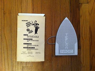 vintage Jacobson's Magic Ironing Shoe in original box Jacobsons Product  Tool