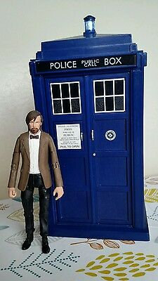 Doctor Dr Who Electronic Tardis With Lights & Sounds Play Set