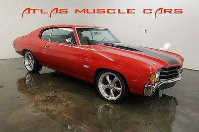 1972 Chevrolet Chevelle 396 Big block cold AC big block 1972 Chevelle 396 auto cold AC bucket seats console PS power disc brakes