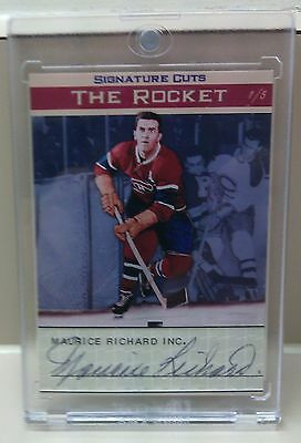 Maurice ''The Rocket'' Richard Signature Cuts SSP!