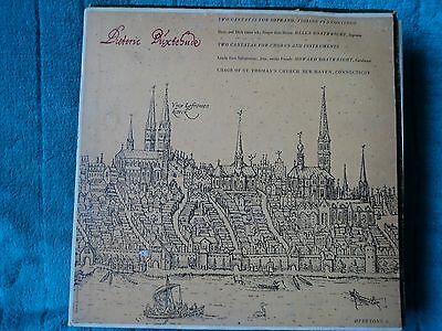 Dietrich Buxtehude - Two cantatas for soprano ,violins and continuo  LP G / VG