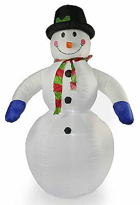 8Ft (2.4M) Snowman Inflatable Christmas Decoration Outdoor Blowup Xmas Snow