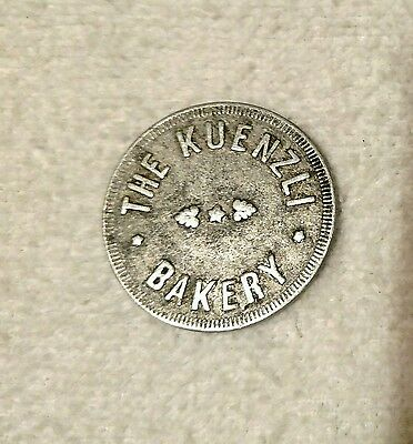 Kuenzci Bakery - Good For 1 Loaf Of Bread Trade Token