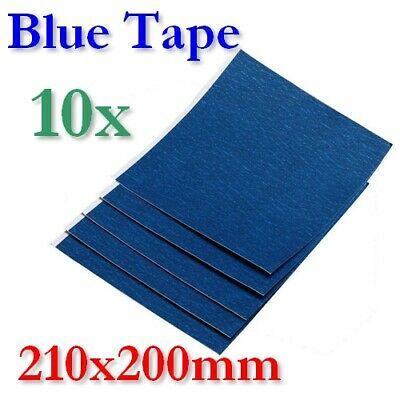 10x L Blue Tape Blatt 3M 3D Drucker Printer Heatbed Printbed Masking Sheet XYZ