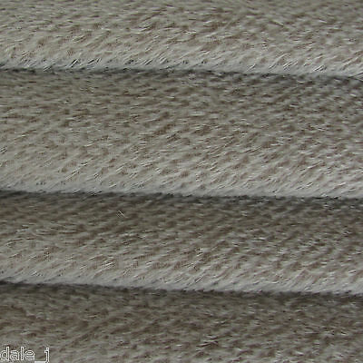 "1/4 yard INTERCAL Grey 1/2"" Ultra-Sparse German Mohair Teddy Bear Fabric"
