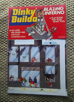Dinky Builda Blazing Inferno  A Play Scene For Your Dinky Toys 1978