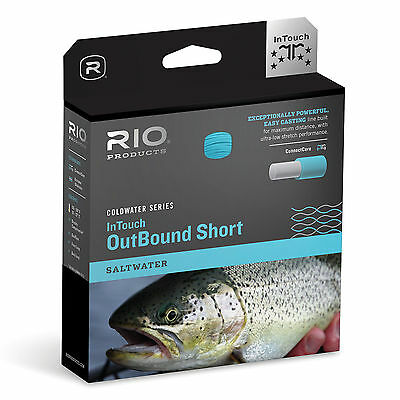 RIO InTouch Salt Water Outbound Fly Fishing Line Short Weight Forward