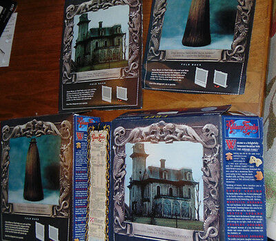 1991 ADDAMS FAMILY Cereal Box pictures of Cousin ITT & mansion
